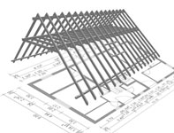 Steel Roof Trusses Vs Wood Roof Trusses Roof Repair Central Texas