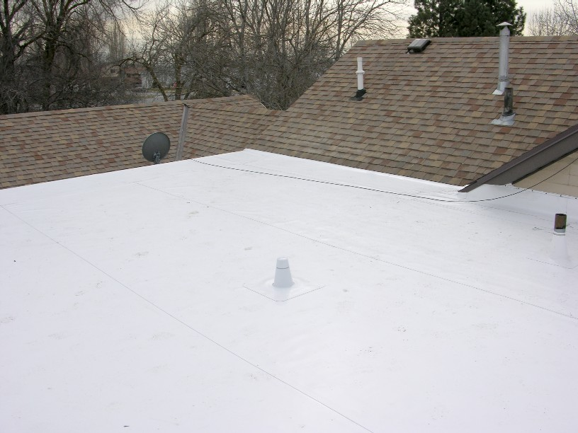 Davis Roofing Inc, single ply membrane. TPO single ply, PVC single ply, CPA single ply residential and commercial flat roof solutions