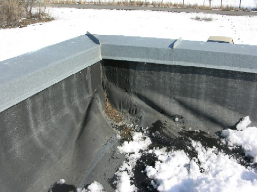 Davis Roofing Inc. EPDM single ply membrane, flat roof solutions, low sloped roofs